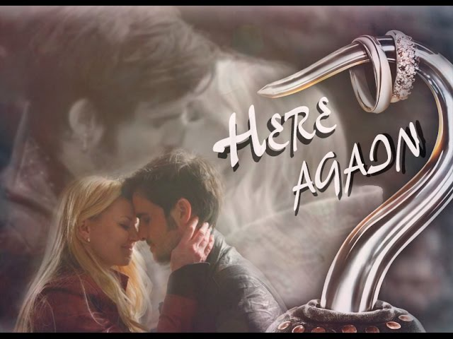 Emma and Hook-Here again ♥ [AU]