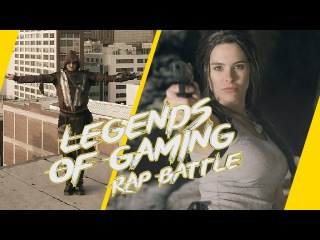 Assassin's Creed vs Lara Croft of Tomb Raider - Video Game Rap Battle - TopBuzz Original