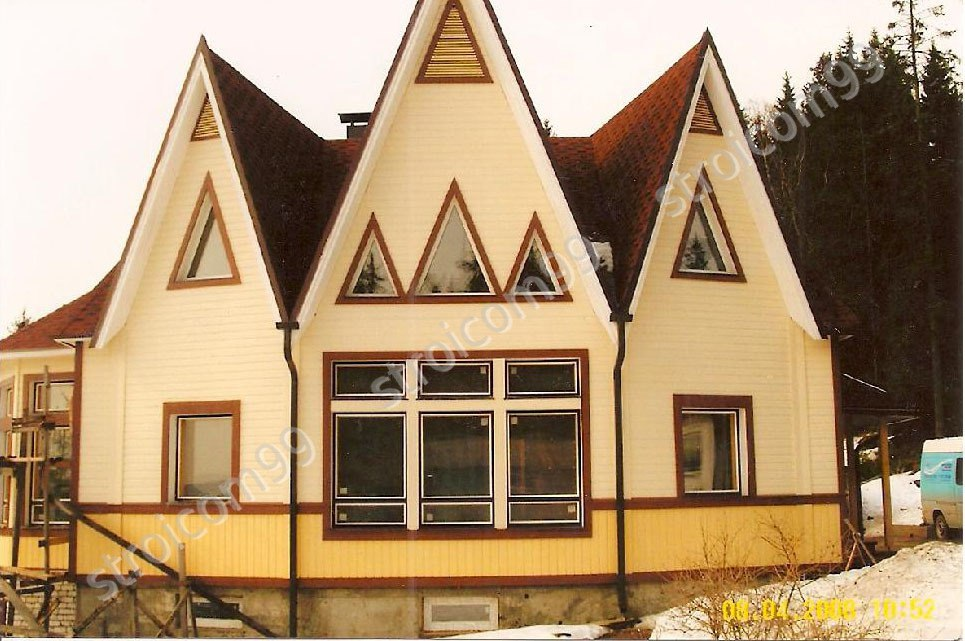 Строительство каркасных домов  в Карелии