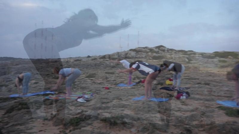GAF-travel Yoga at sunrise Cyprus Ayia-napa
