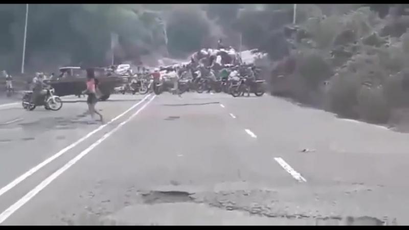 Налет на дороге