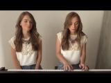 Красавицы близняшки с песней DRAG ME DOWN - One Direction - Twin Melody Cover !