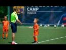 Маленькие чемпионы футбольной академии Делеон