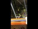Американские горки в парке Ривьера