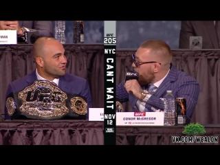 UFC 205 Press Conference [Русская озвучка от My Life is MMA]