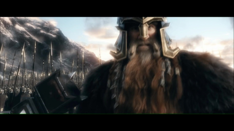 Хоббит: Битва Пяти Воинств—Даин Железностоп
