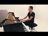 Пианист Peter Bence шикарно сыграл на пианино Sia - Cheap Thrills