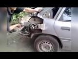 Работа авто жестянщика, вытяжка кузова