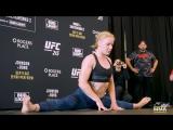 UFC 215 - Amanda Nunes, Valentina Shevchenko - Открытая тренировка