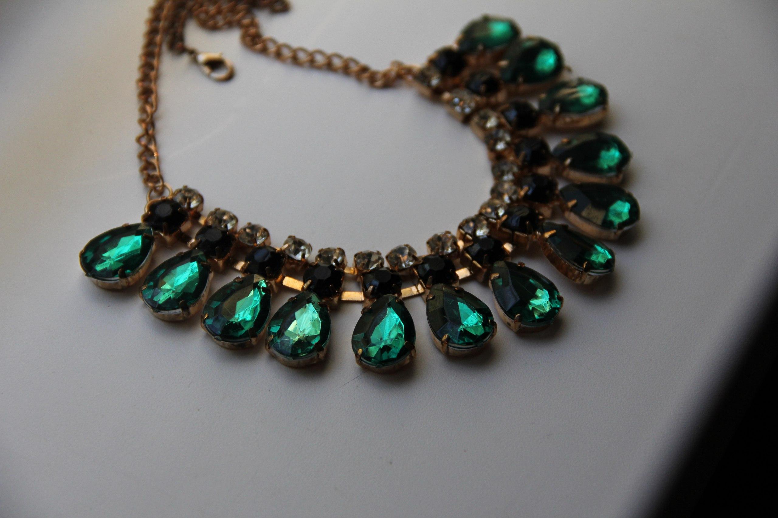 Одно из самых любимых ожерелий с али