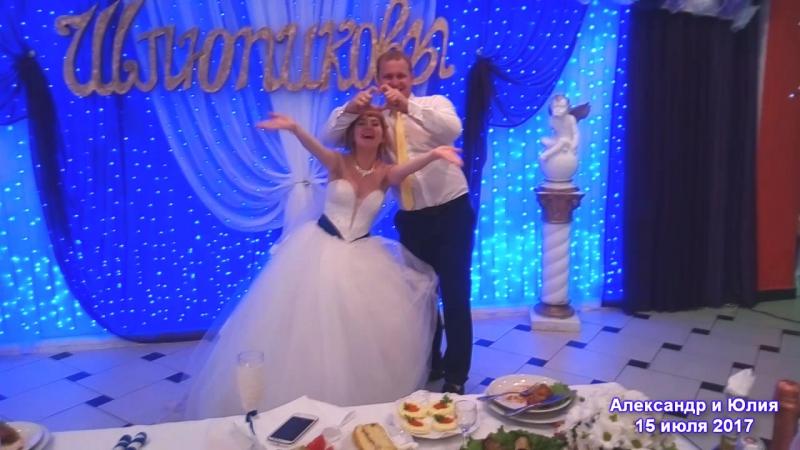 Свадьба Александра и Юлии 15 07 17