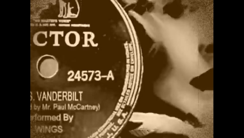 Paul McCartney Wings Mrs Vanderbilt