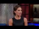 Kate Beckinsale Teaches Stephen To Speak Russian