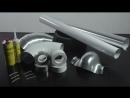 монтаж покрытия K Flex AL CLAD/WHITE CLAD для всех видов теплоизоляции