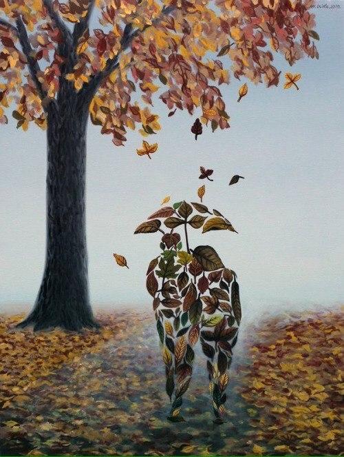 ....приходит сентябрь, И будет тревожно кружиться оторванный лист, Он в ветре прохладном немного продрог и озяб, Но что тут поделать? Природы осенней каприз... ZUcMG1Gw4hY