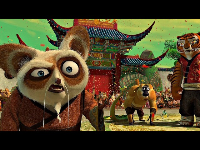 Мастер Угвей выбирает По - Воином Дракона. Кунг-фу панда. 2008