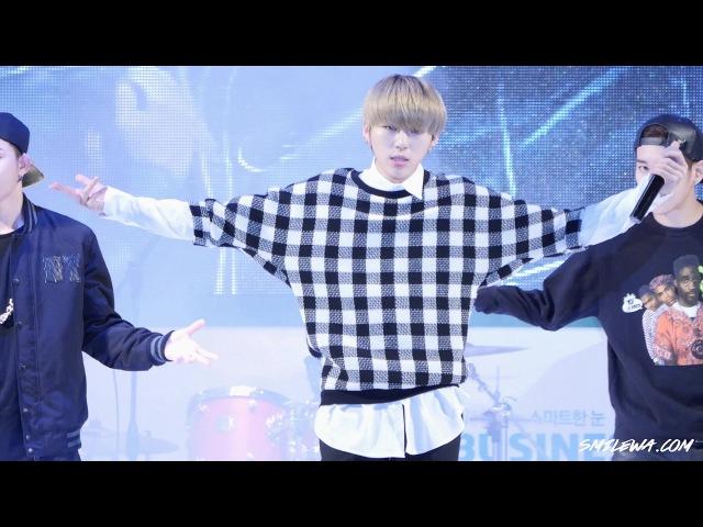 141018 seoul hope sharing angel concert block b - very good (zico focus)