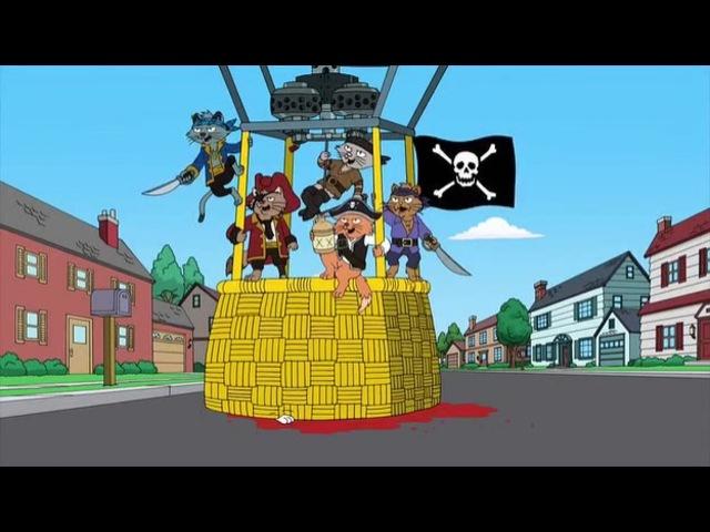 Американский Папаша. Коты-пираты