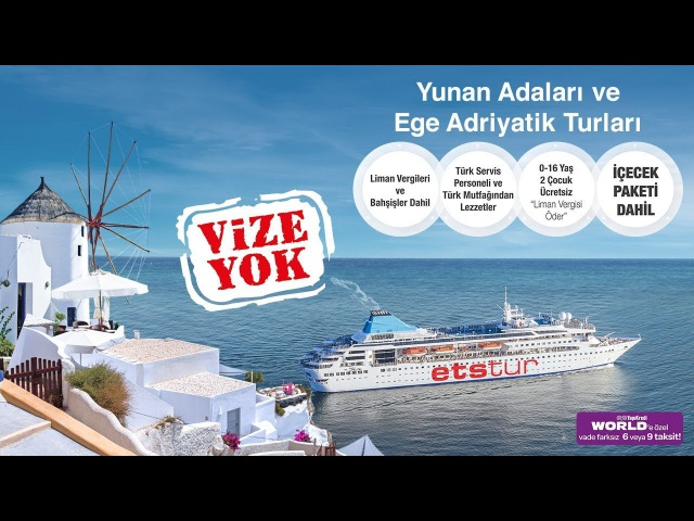 ETS Gemisi Gemini Yaz Boyunca Ege ve Adriyatik Sularında!