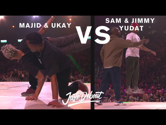 Majid Ukay vs Sam Jimmy Yudat - Juste Debout 2017 | Danceproject.info