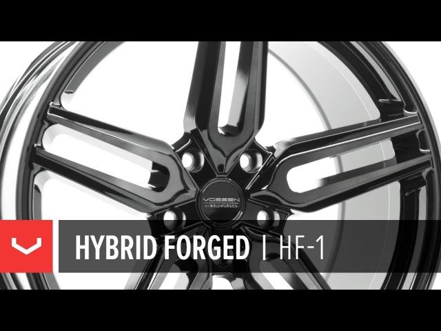 Vossen HF Series | HF-1 | Tinted Gloss Black