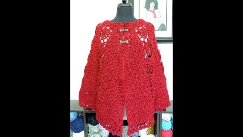 Crochet: Capa con Piñas
