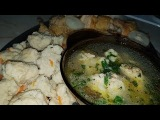 Суп товченики с мясом по - цыгански. Галушки с мясом. Gipsy cuisine.