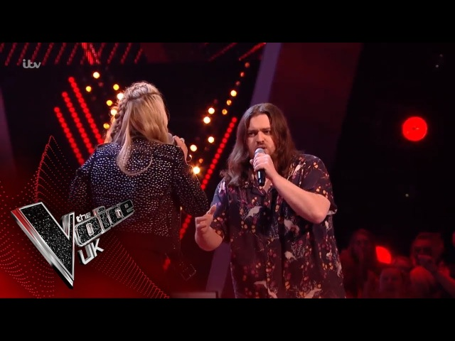 Chris James Vs Holly Ellison - Id Do Anything For Love The Battles | The Voice UK 2018