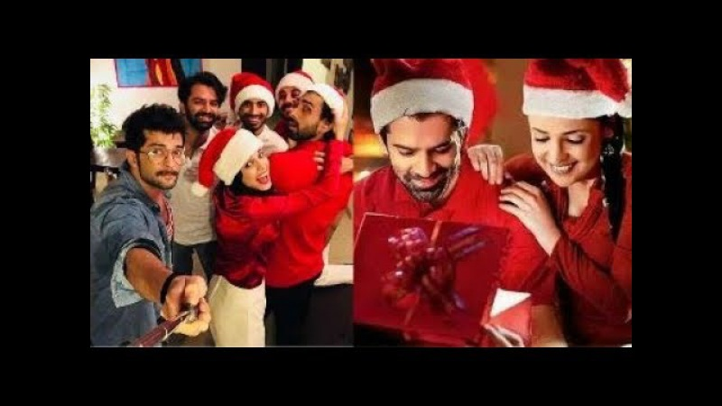 Sanaya Irani and Barun Sobti Celebrating Christmas Party with Friends and Family