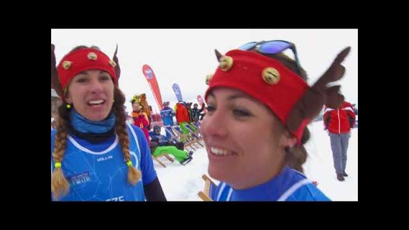 Knoblochova/Dostalova take SnowVolleyball gold at Kronplatz