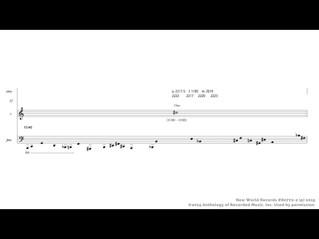 Michael Pisaro — A mist is a collection of points [w score]