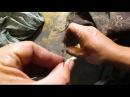 Якутский нож из шарика от подшипника