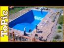 Как это работает Создание плавательного бассейна с нуля за 10 минут