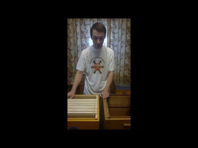 Доповнення до відео про вулик на рамку 145, 300 та 435мм (українка) одночасно