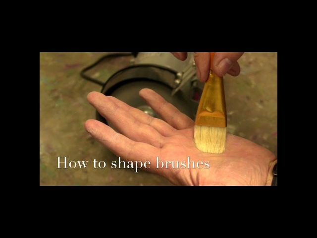 Как придать форму кистям. How to shape brushes (English subtitles)