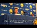 KERR: Klay passed up a 3 to feed Casspi, would've been embarrassing if he shot (postgame GSW-MEM)