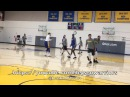 Views from practice: Bench unit 3-on-3 (Swaggy/Zaza/Casspi/Green vs McCaw/Looney/JaVale/DeMarco)