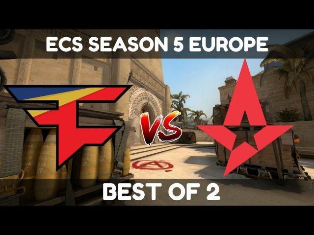 FaZe vs Astralis (Mirage) - Highlights - ECS SEASON 5 EUROPE