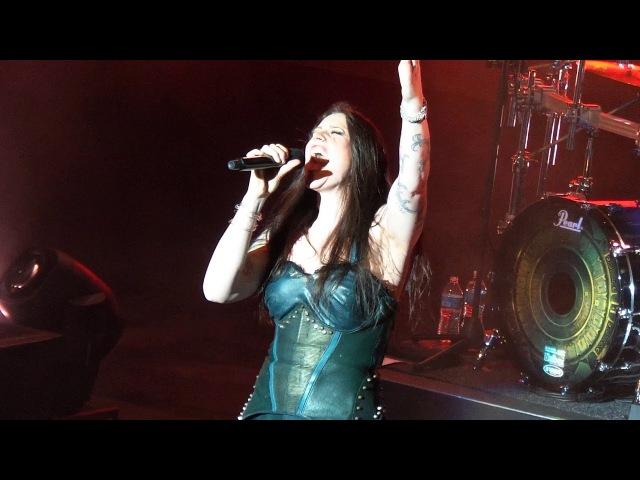 Nightwish - Devil the Deep Dark Ocean (Decades Tour 31318 Lyric Baltimore, MD)