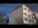 Другой торец пятиэтажного дома утепление пенопластом 250 мм в 1997 году