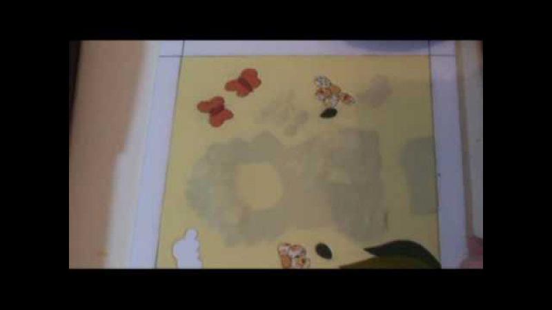 PATCHWORK NO ISOPOR (EMBUTIDO) - 8 - RECORTE DE FUNDO INTEIRIÇO 1 - COM LU HERINGER