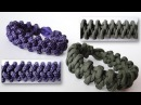 How to Make a Komodo Claw and Tooth Reversible Paracord Survival Bracelet Diamond Knot and Loop