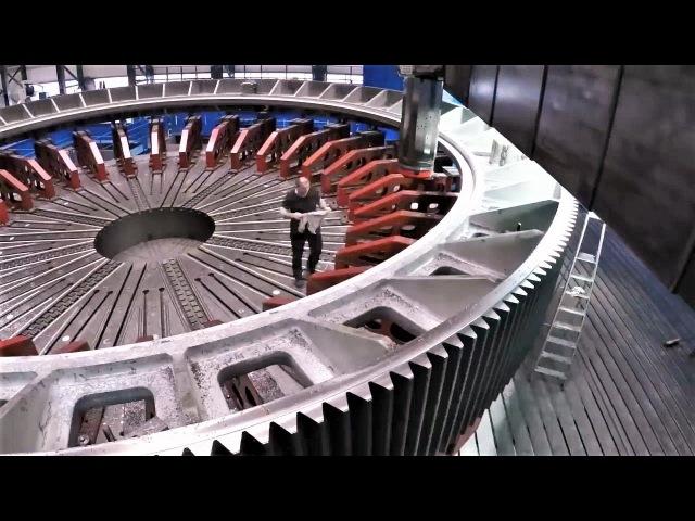 Шестерня 18 МЕТРОВ в диаметре. Процесс изготовления