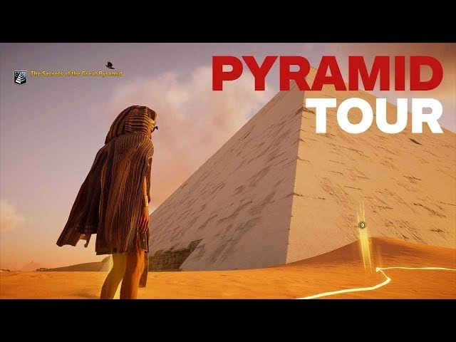 Assassin's Creed Origins Discovery Mode: Complete Tour of the Pyramids