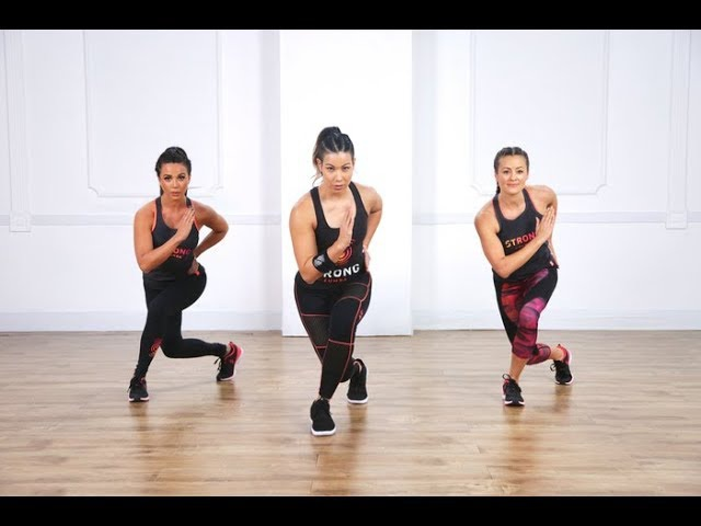 20-Minute STRONG by Zumba® Cardio and Full-Body Toning Workout
