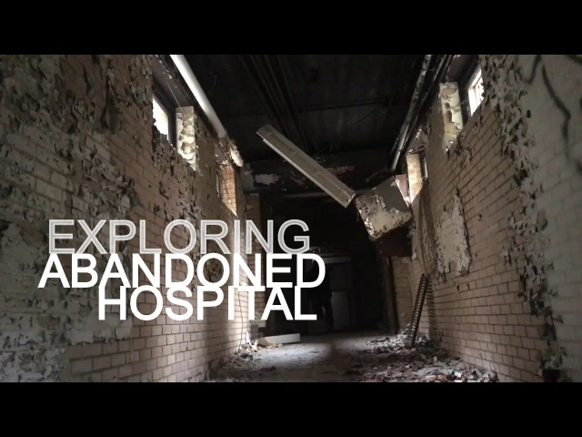 Exploring Abandoned Hospital FOUND RECORDS ROOM!