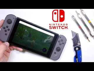 Nintendo Switch Durability Test!! - Will it survive?