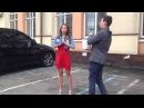 Елена Кирик приняла вызов в ice bucket challenge от Андрея