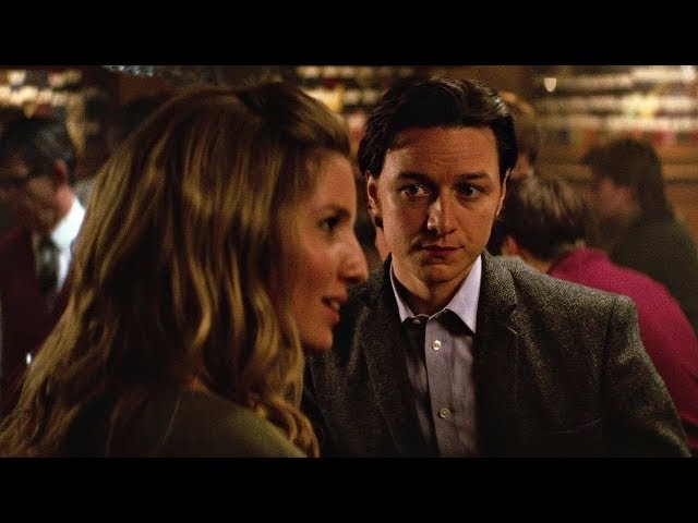 Чарльз Ксавьер клеит девушку в баре. Люди Икс: Первый класс. 2011