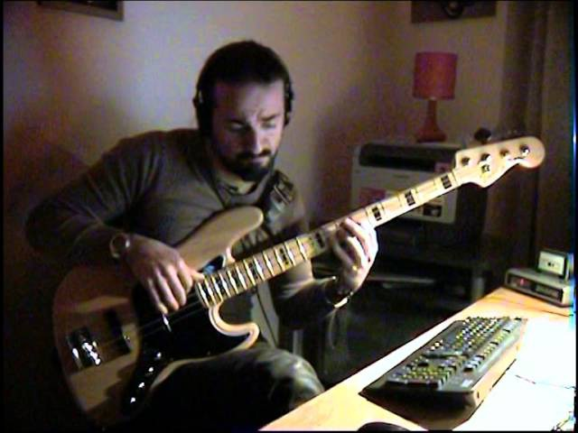 Dave Brubeck Take Five BASS COVER by FFKING